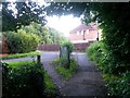 SZ0796 : East Howe: footpath E49 approaches Leybourne Avenue by Chris Downer