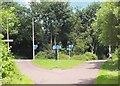 NT2274 : Former railway junction near Craigleith, Edinburgh by Jim Barton