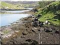 NG2294 : Coast at Ãird Adhanais by M J Richardson