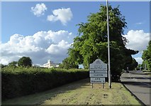 SJ8542 : Entering Newcastle-under-Lyme on A519 by Jonathan Hutchins
