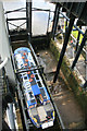 SJ6475 : Anderton Boat Lift - trip boat ready to leave by Chris Allen