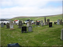 HP6514 : Britain's most northerly burial ground by David Purchase