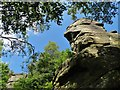 SK2787 : A view of The Rivelin Needle, Rivelin Rocks by Neil Theasby