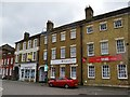 TL1860 : Estate Agents on Market Place by John M
