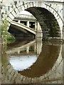 SJ5409 : Arch in Atcham Old Bridge by Philip Halling