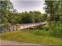 SD7009 : Queen's Park, Dobson Bridge by David Dixon