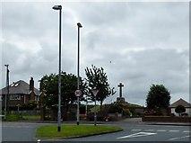 SD3648 : Preesall war memorial by Philip Platt