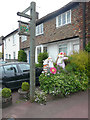 TR1743 : Elham's 2016 scarecrow competition by John Baker