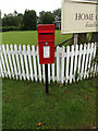 TL9577 : Swan End Postbox by Adrian Cable