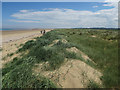 TF7544 : Recovering sand dunes at Titchwell by Hugh Venables