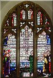 TG1022 : Stained glass window, St Michael's church, Reepham by Julian P Guffogg