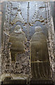 TG1022 : Memorial brass, St Mary's church, Reepham by Julian P Guffogg