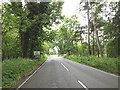 TL8980 : Entering Suffolk on the A1088 Thetford Road by Adrian Cable