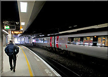 SP0786 : Birmingham New Street: Platform 11 by John Sutton