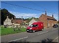TF7636 : Royal Mail van, Docking by Hugh Venables