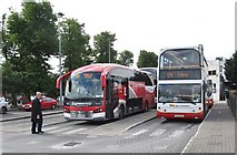 J0407 : Buses awaiting departure at Dundalk Bus Station by Eric Jones