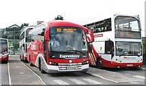 J0407 : Bus yard of Dundalk Bus Station by Eric Jones
