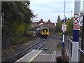 SJ8199 : Train approaching Salford Crescent station by Schlosser67