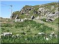 NG1592 : Ruined house at Greosabhagh by M J Richardson