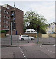 SZ0791 : Cambridge Road pelican crossing, Bournemouth by Jaggery