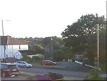 SZ0795 : West Howe: Ericksen Road leaves Kinson Road by Chris Downer