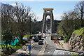 ST5673 : Road onto Clifton Suspension Bridge by Bill Boaden