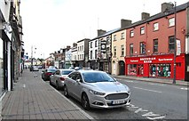 J0407 : Shops in Park Street, Dundalk by Eric Jones