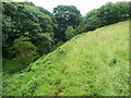 SE0929 : Footpath diversion route from Hill End Lane to Shibden Head, Queensbury by Humphrey Bolton