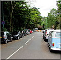 SZ0791 : On-street parking, Cambridge Road, Bournemouth by Jaggery