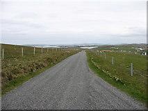 HU3632 : The lane to Bridge End by David Purchase