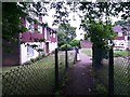 SZ0696 : Kinson: 3 Anstey Close and footpath E21 by Chris Downer