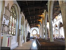 TL1998 : Inside St John the Baptist, Peterborough (iii) by Basher Eyre