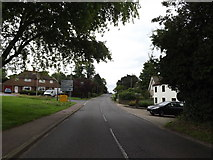 TM3876 : B1117 Walpole Road & Roadsign by Adrian Cable