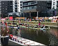 SE3032 : Dragon Boat racing in Leeds Dock by Rich Tea