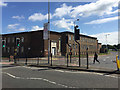 TL1998 : Peterborough Police Station, at the corner of the Rivergate one-way loop by Robin Stott