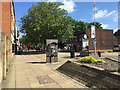 TL1998 : Public space, south end of Bridge Street, Peterborough by Robin Stott