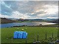 NH6128 : Field above Loch Ruthven by valenta