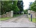 NU0838 : Gateway to Buckton Farm by Russel Wills