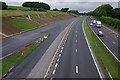 SD4965 : M6 north from Foundry Lane bridge by Ian Taylor