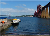 NT1378 : Hawes Pier at South Queensferry by Mat Fascione
