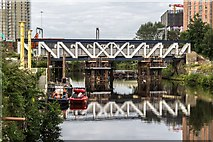 SJ8297 : Princes Bridge by Peter McDermott
