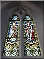 TF1505 : St Benedict, Glinton: stained glass window (b) by Basher Eyre