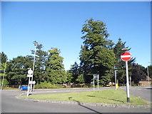 SU5707 : Roundabout on North Hill, Fareham by David Howard