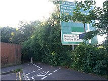 SZ0992 : Springbourne: footpath C13 heads southwest from Portchester Place by Chris Downer