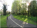 NZ2666 : Coast Road Cycleway near the Corner House, Newcastle upon Tyne by Andrew Tryon
