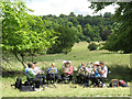 SP9210 : A Brass Band in Tring Park by Chris Reynolds