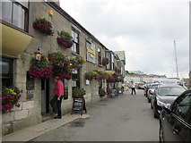SW6225 : Porthleven Harbourside by Roy Hughes
