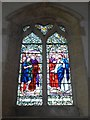 TF0904 : St Andrew, Ufford: stained glass window (VI) by Basher Eyre