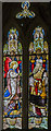 TG1222 : Chancel Stained glass window, St Michael and All Angels' church, Booton by Julian P Guffogg