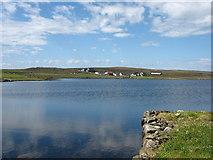 HU5764 : Loch Isbister by David Purchase